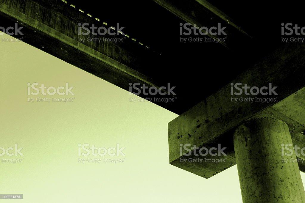 Urban Overpass royalty-free stock photo