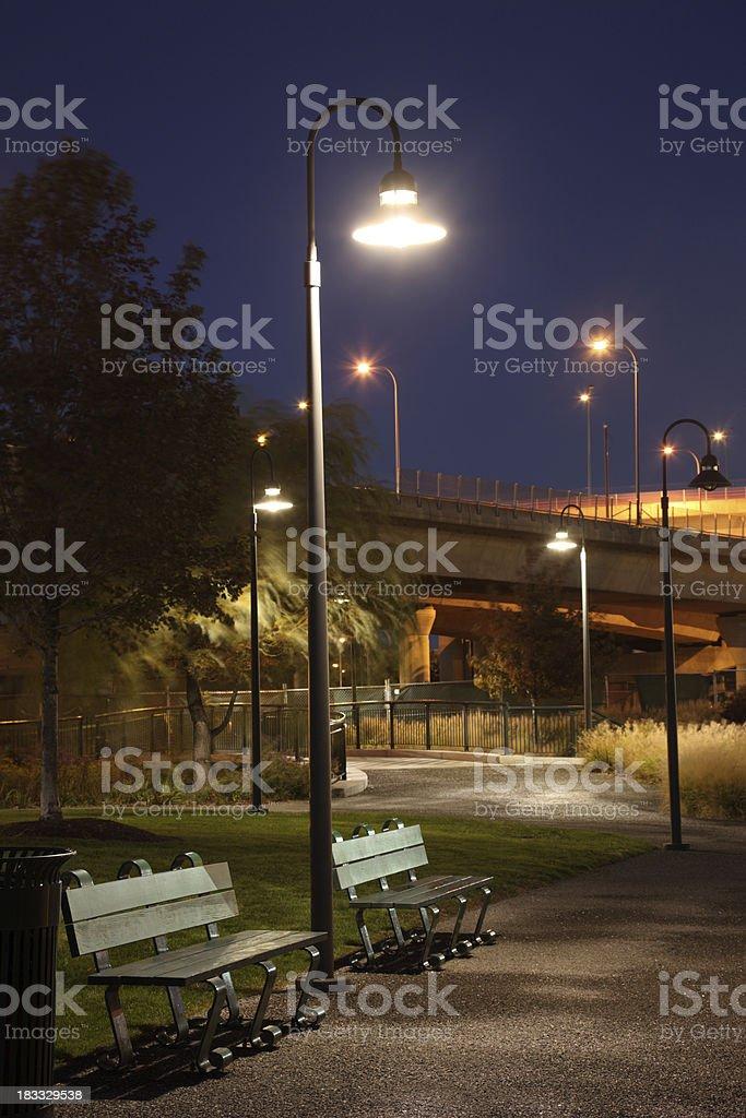 Urban Park royalty-free stock photo