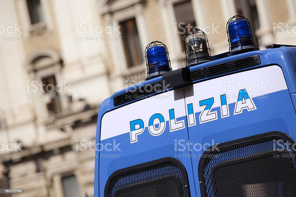 Urban police stock photo