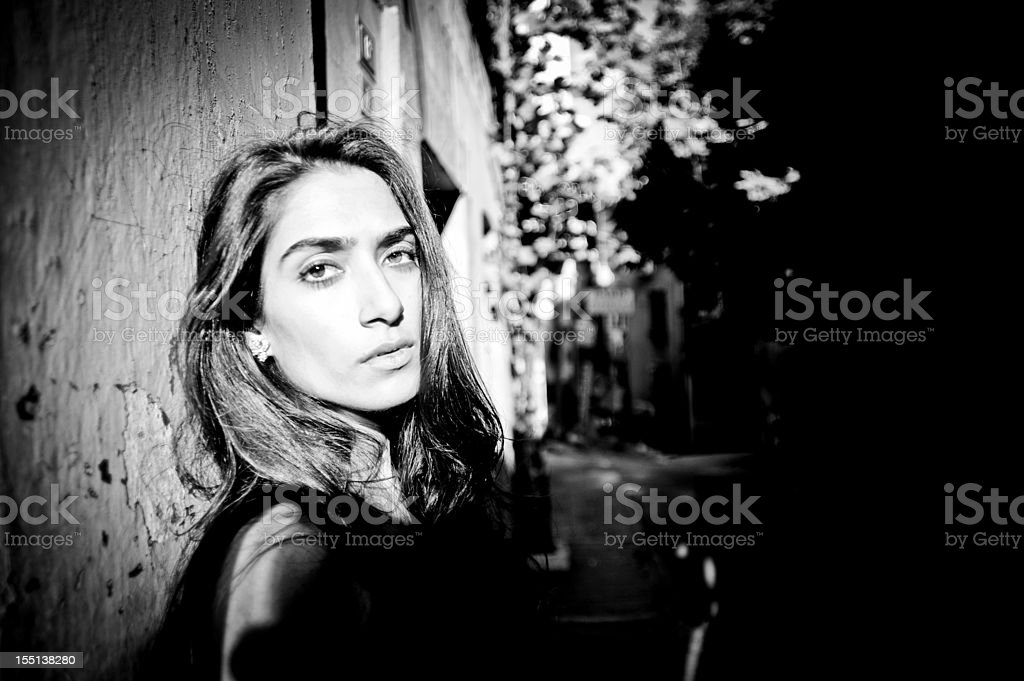 Urban Portrait royalty-free stock photo