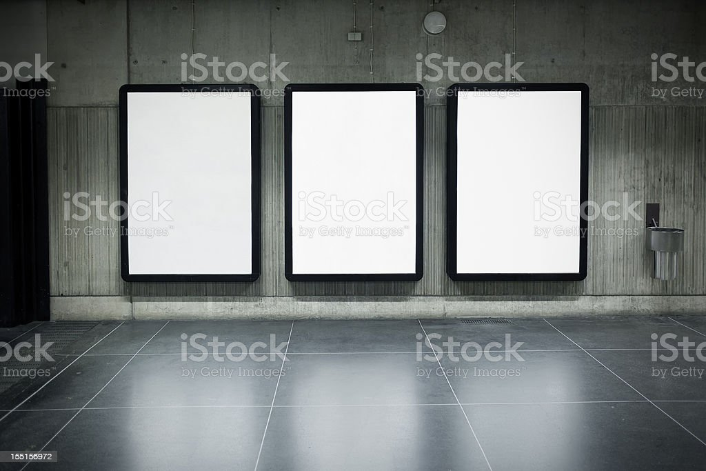 Urban posters royalty-free stock photo