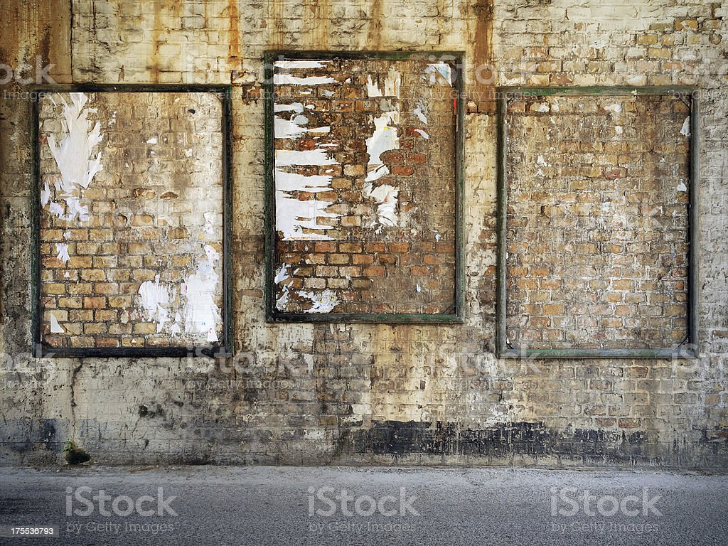 Urban Posters stock photo