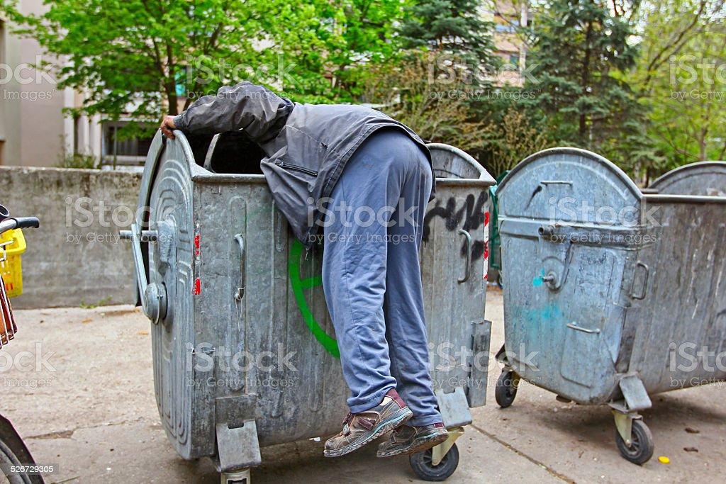 Urban Poverty stock photo