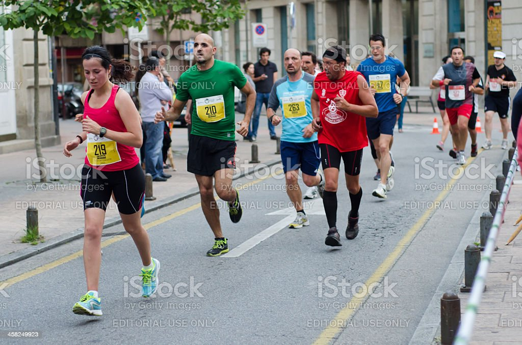 Urban Race royalty-free stock photo
