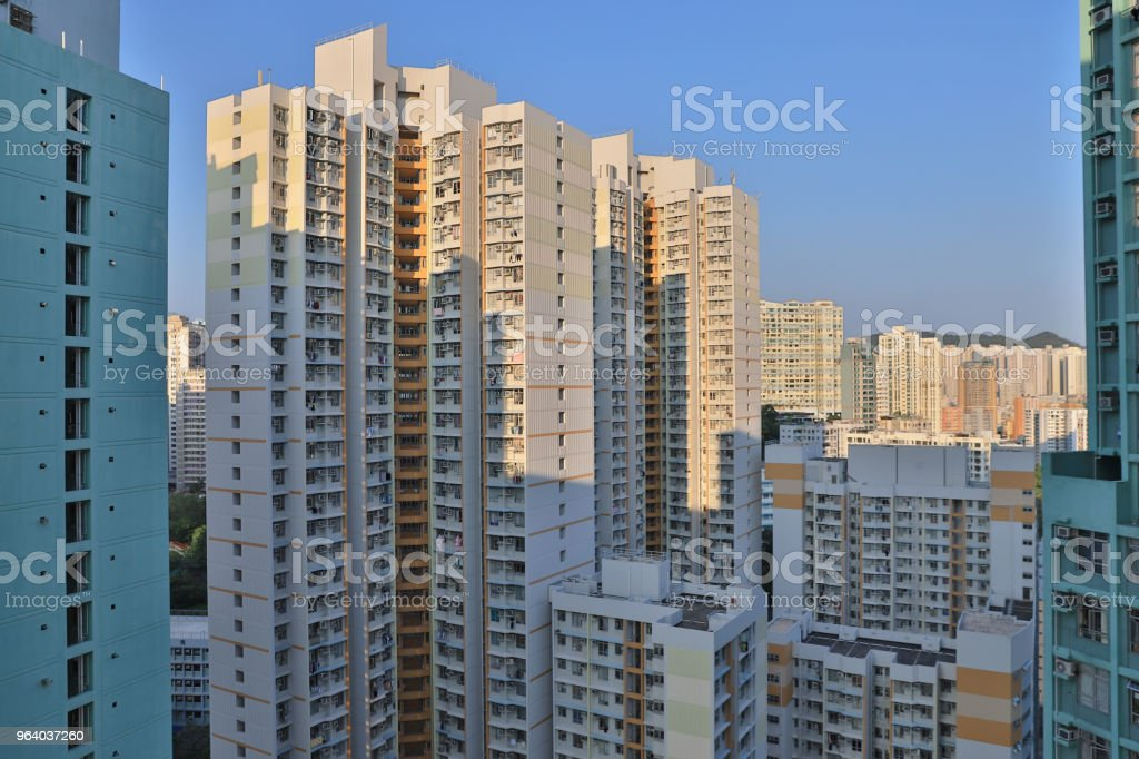 Urban Renewal of Public house in Hong Kong - Royalty-free Apartment Stock Photo