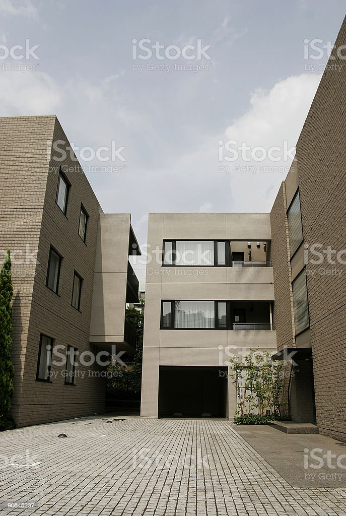 Urban residence royalty-free stock photo