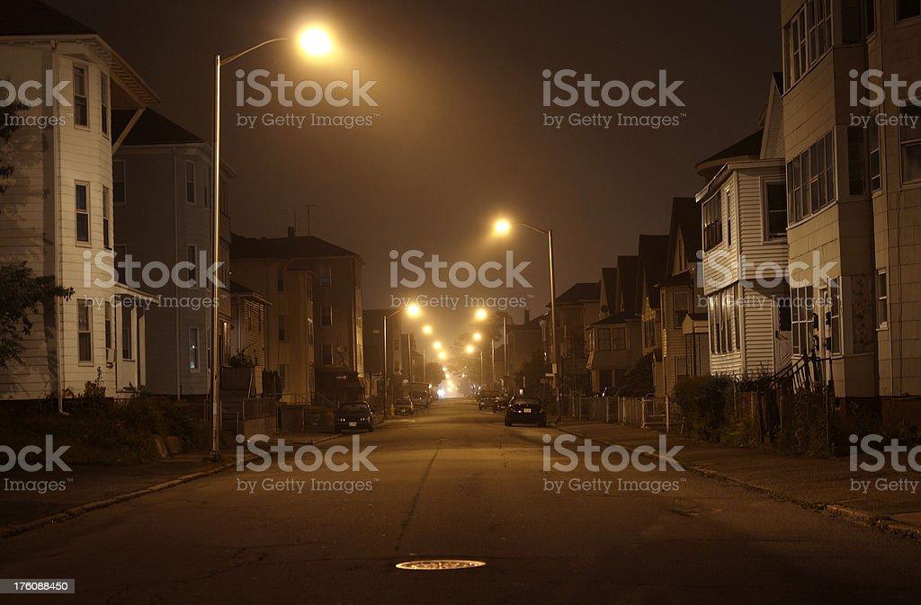 Urban Road royalty-free stock photo