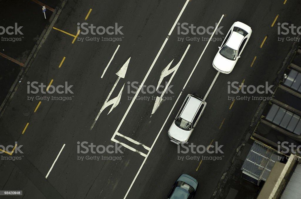 Urban Road stock photo