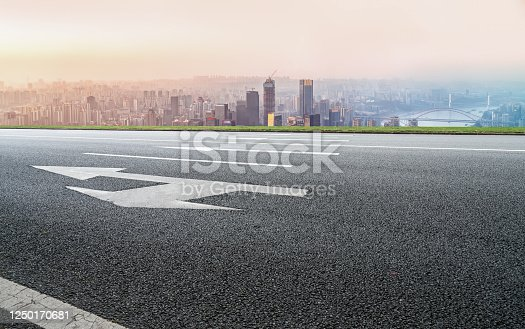 520881658 istock photo Urban road skyline and architectural landscape 1250170681