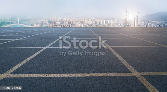 520881658 istock photo Urban road skyline and architectural landscape 1250171300