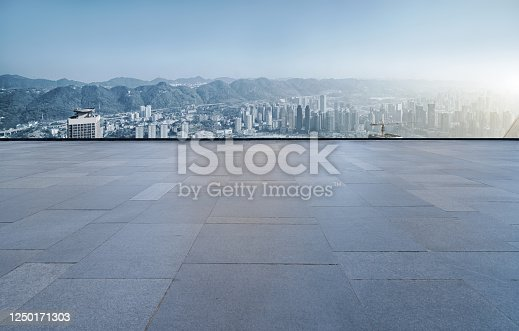520881658 istock photo Urban road skyline and architectural landscape 1250171303