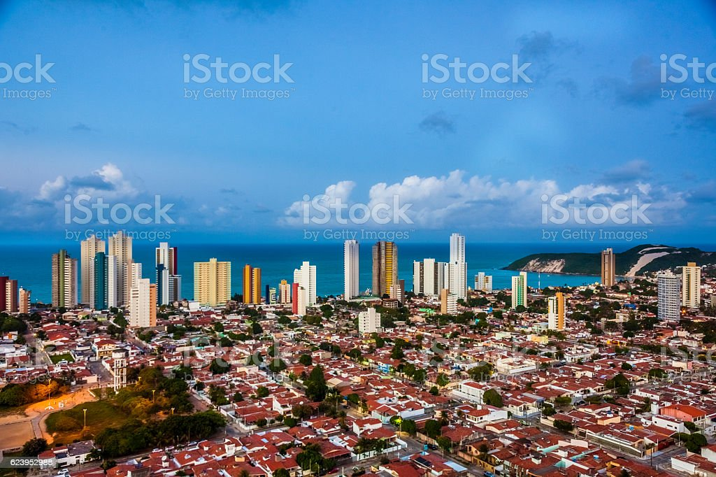 Urban Scene - Aerial Photography stock photo