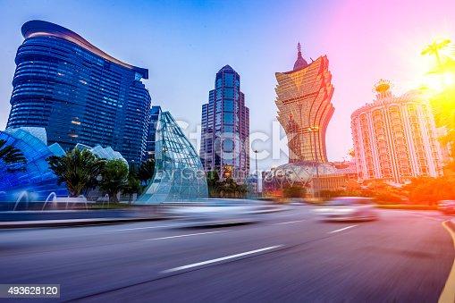 urban scene of macao