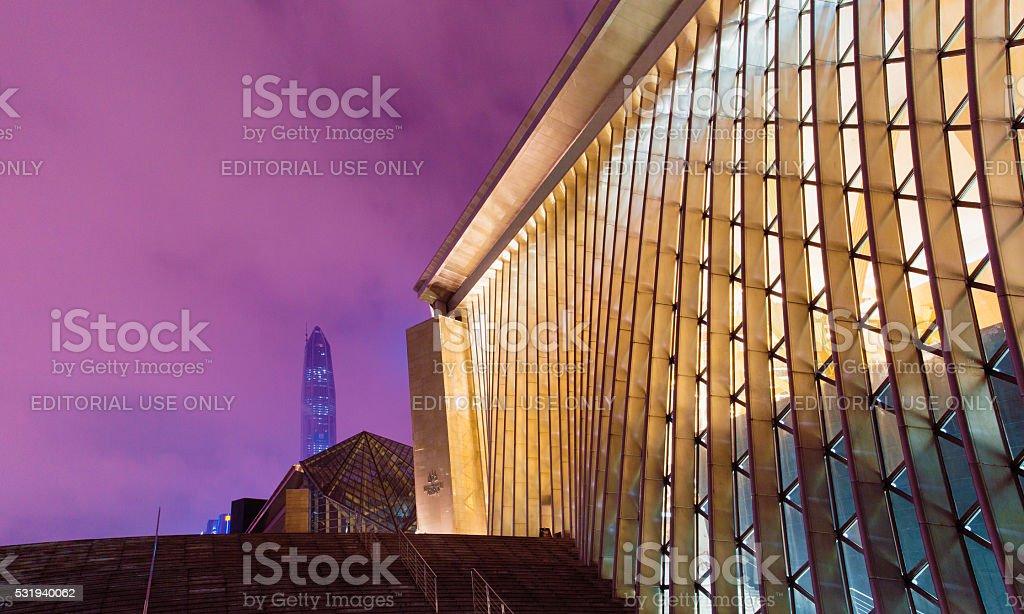Urban scene of Shenzhen stock photo