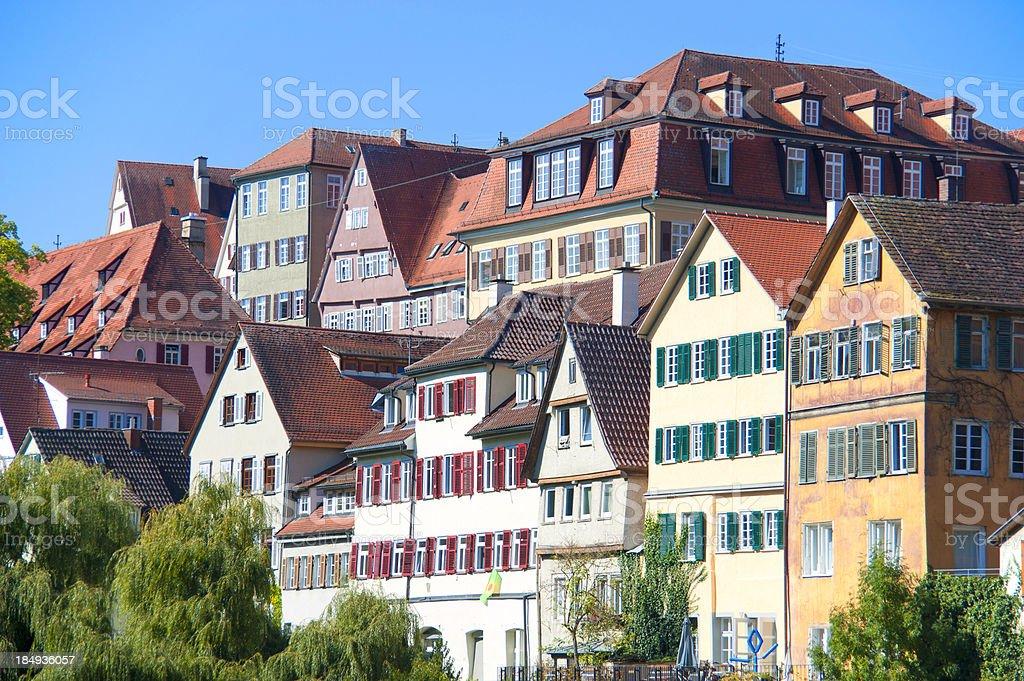 urban scene of Tübingen / Germany royalty-free stock photo