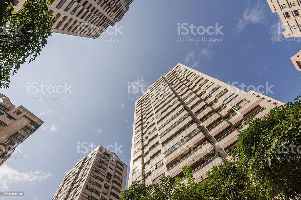 Urban scenery royalty-free stock photo