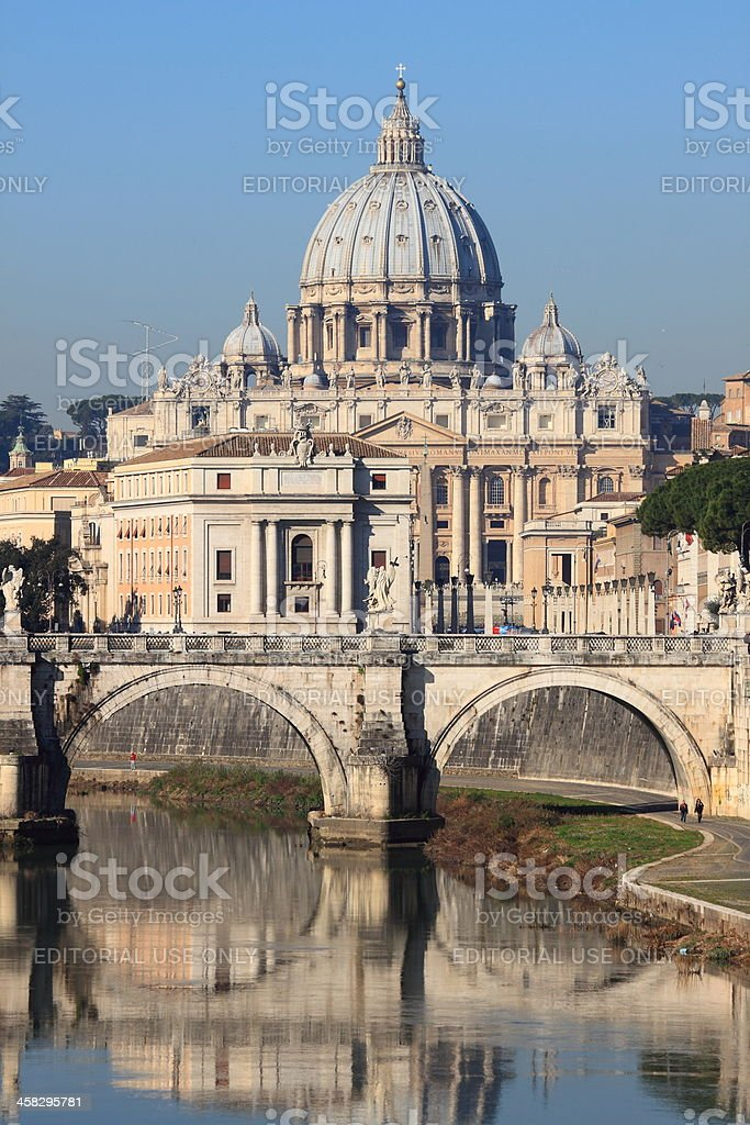 Urban scenic of Rome royalty-free stock photo