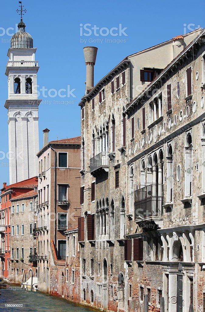 Urban scenic of Venice royalty-free stock photo