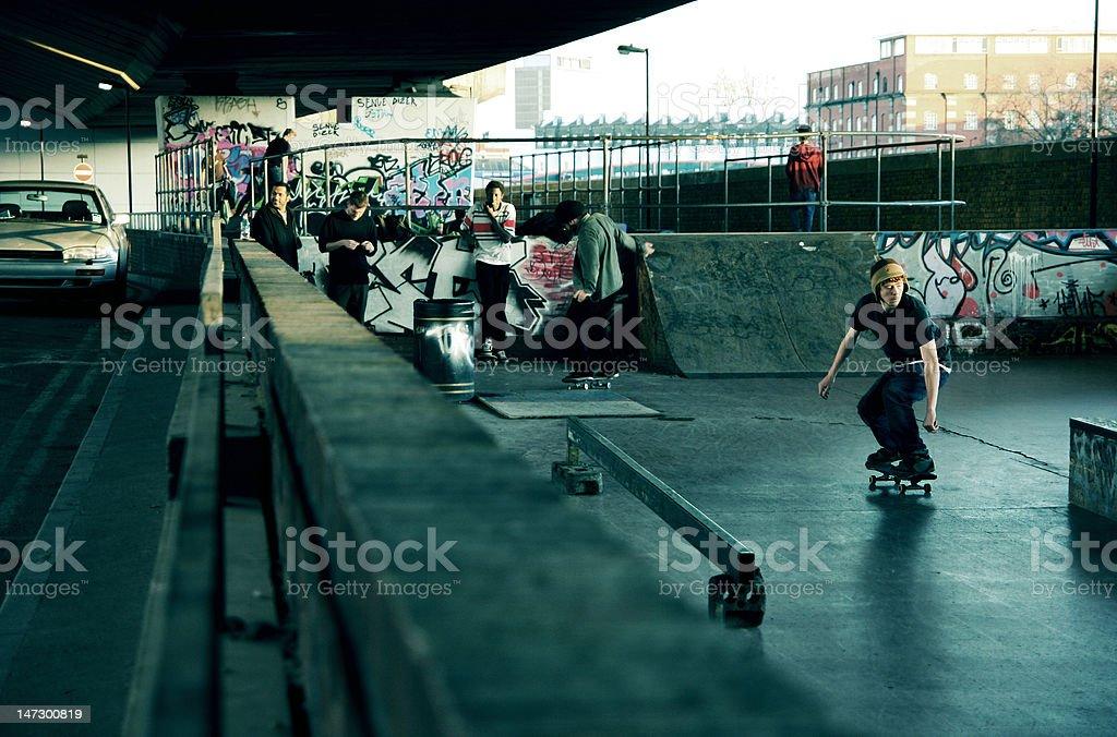 Urban Skate Park stock photo