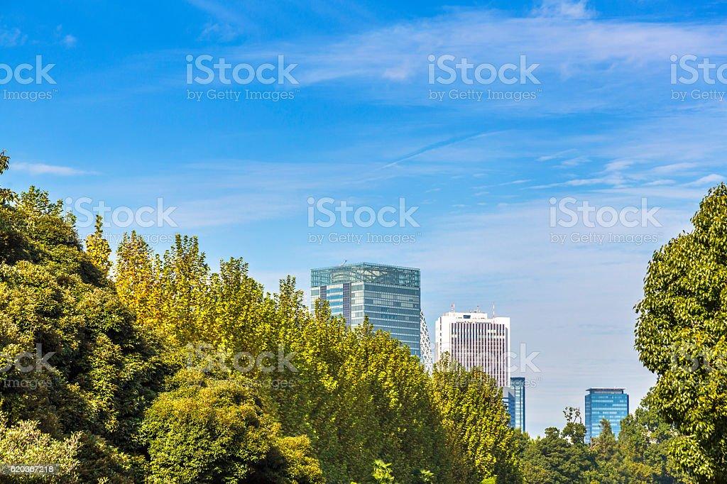 Urban sky  zbiór zdjęć royalty-free