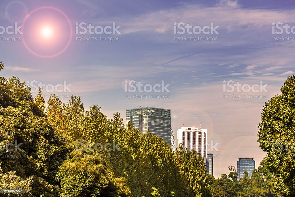 Urban sky foto de stock royalty-free