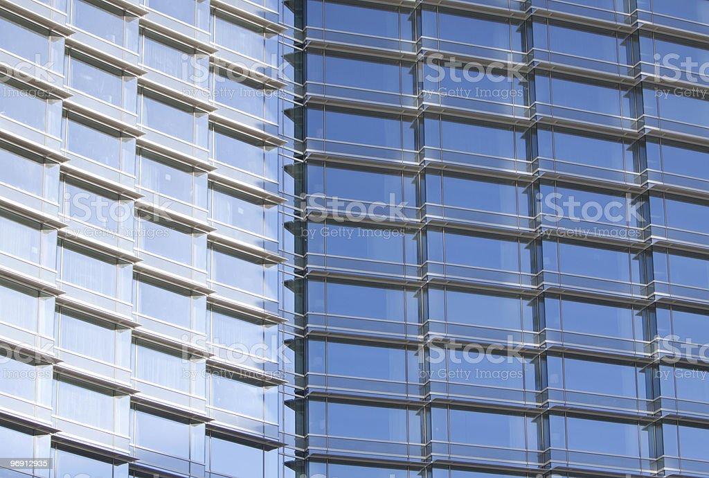 Urban skyscraper royalty-free stock photo