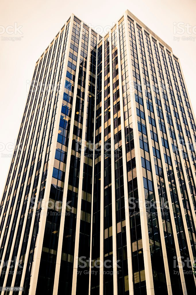 Urban Skyscraper Series I royalty-free stock photo