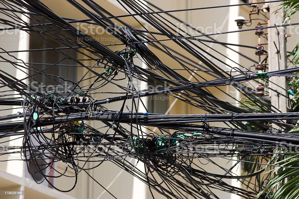 Urban spaghetti. royalty-free stock photo