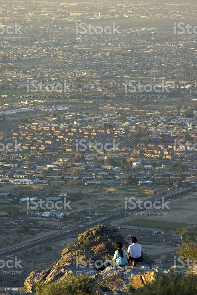 Urban Sprawl royalty-free stock photo