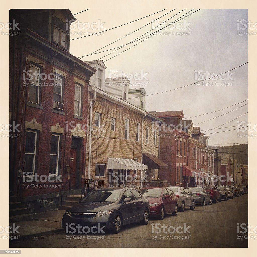 Urban Street royalty-free stock photo