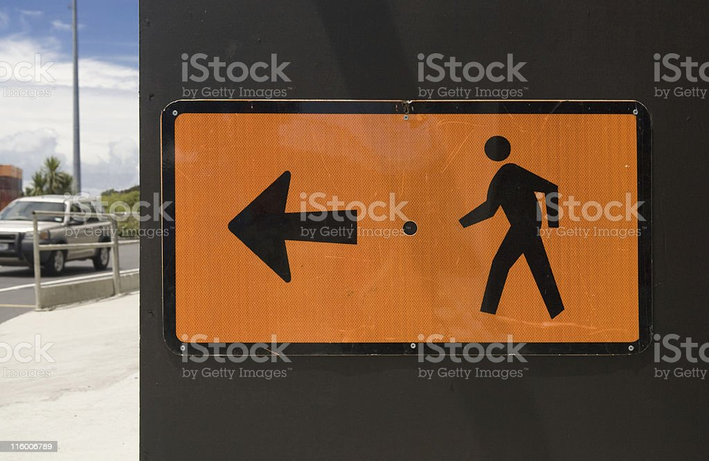 Urban Style Directions royalty-free stock photo