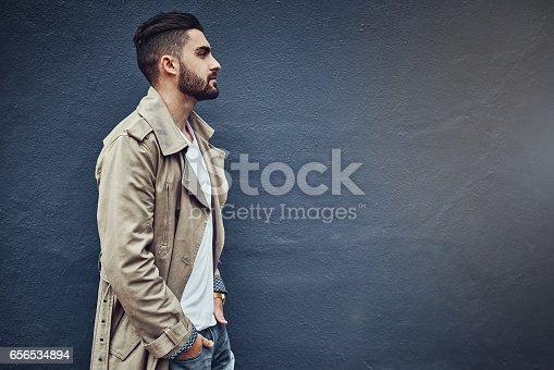 istock Urban style for the urban man 656534894