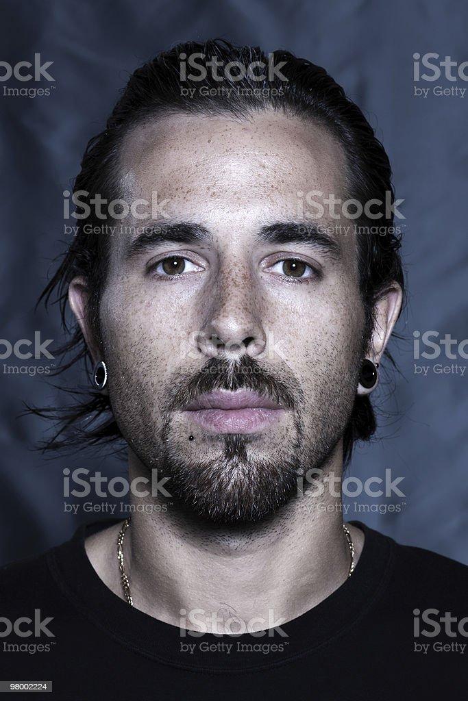 urban stylish young man portrait serious royalty free stockfoto
