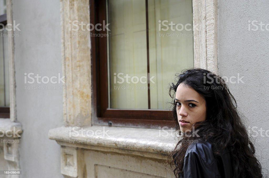Urban teenager royalty-free stock photo