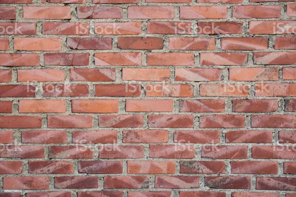 Urban textures: bricks stock photo