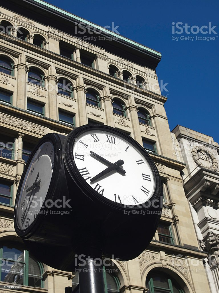 Urban Timekeeper royalty-free stock photo