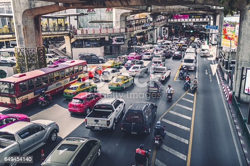 Urban traffic. Thailand, Bangkok