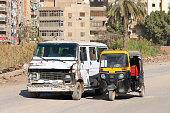 istock Urban transport in Cairo, Egypt 1304852812