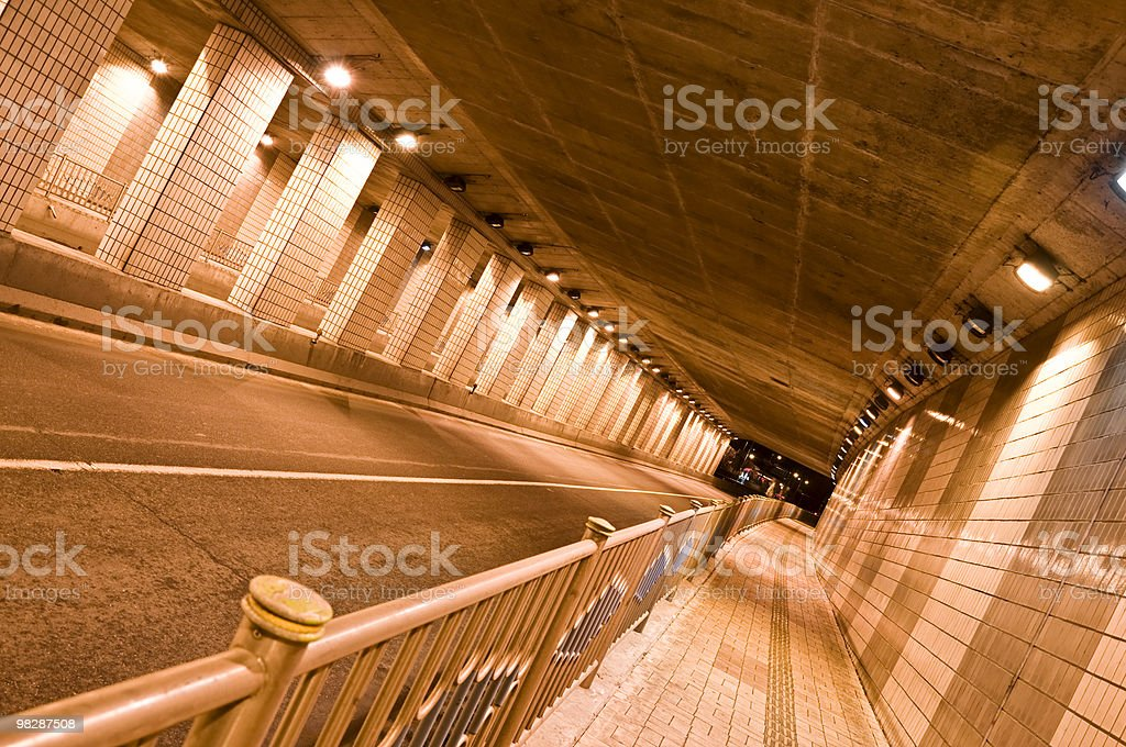 Urban Tunnel royalty-free stock photo