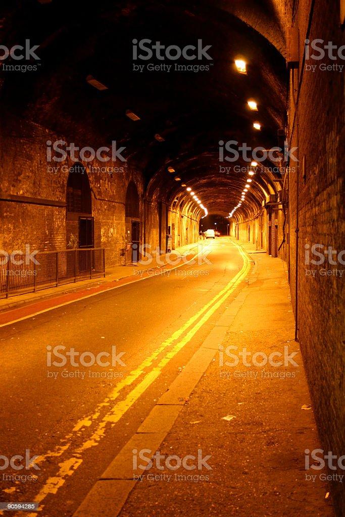 Urban Underpass royalty-free stock photo