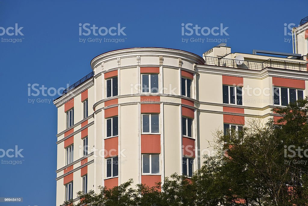 Urban view. New building. royalty-free stock photo