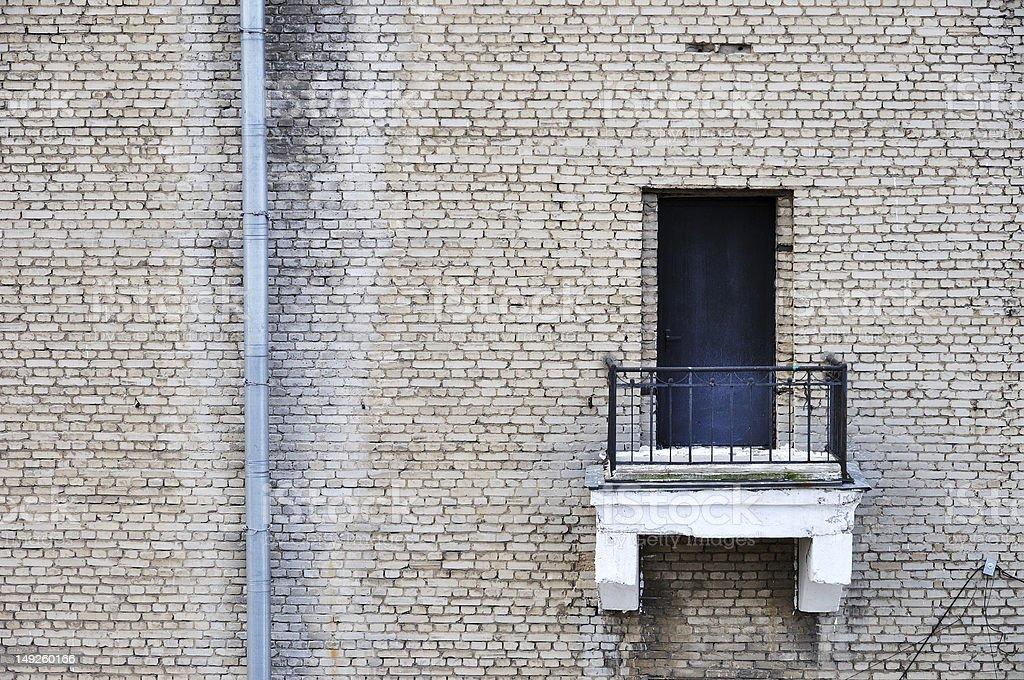 Urban wall stock photo