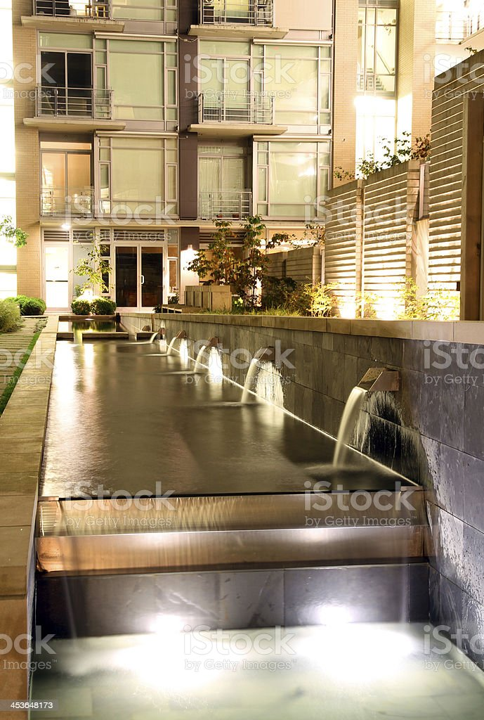 Urban Waterfalls royalty-free stock photo