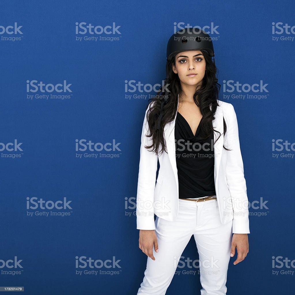 Urban woman stock photo