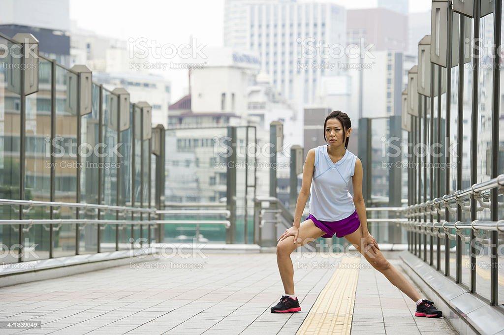 Urban Workout royalty-free stock photo