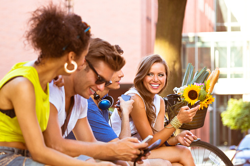 Urban Young People Stock Photo - Download Image Now