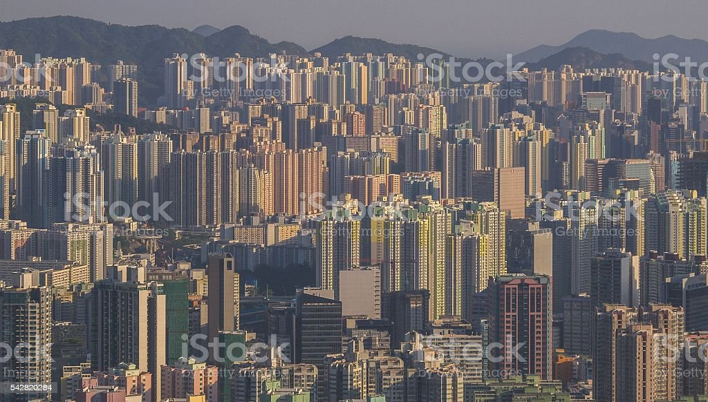 Urbanization stock photo