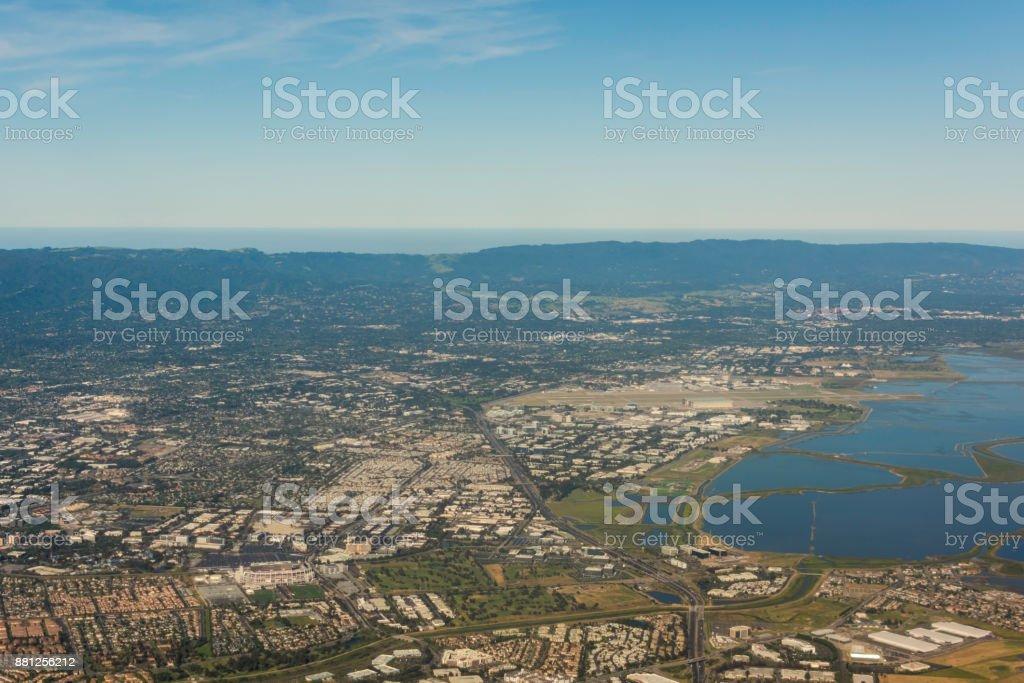 Urbanized Valley stock photo
