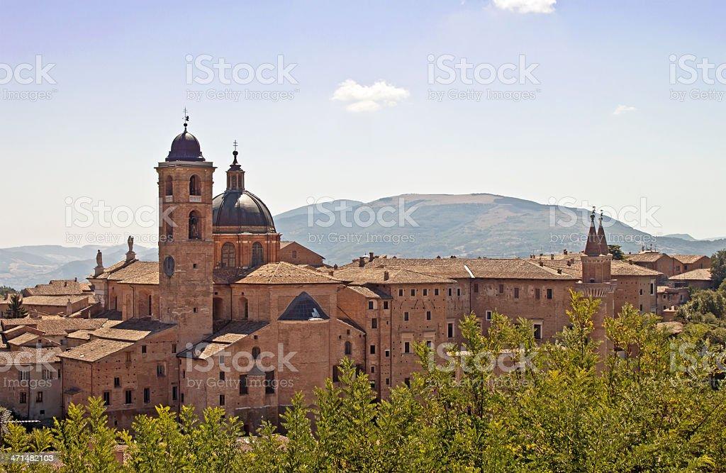 Urbino in the Marche stock photo