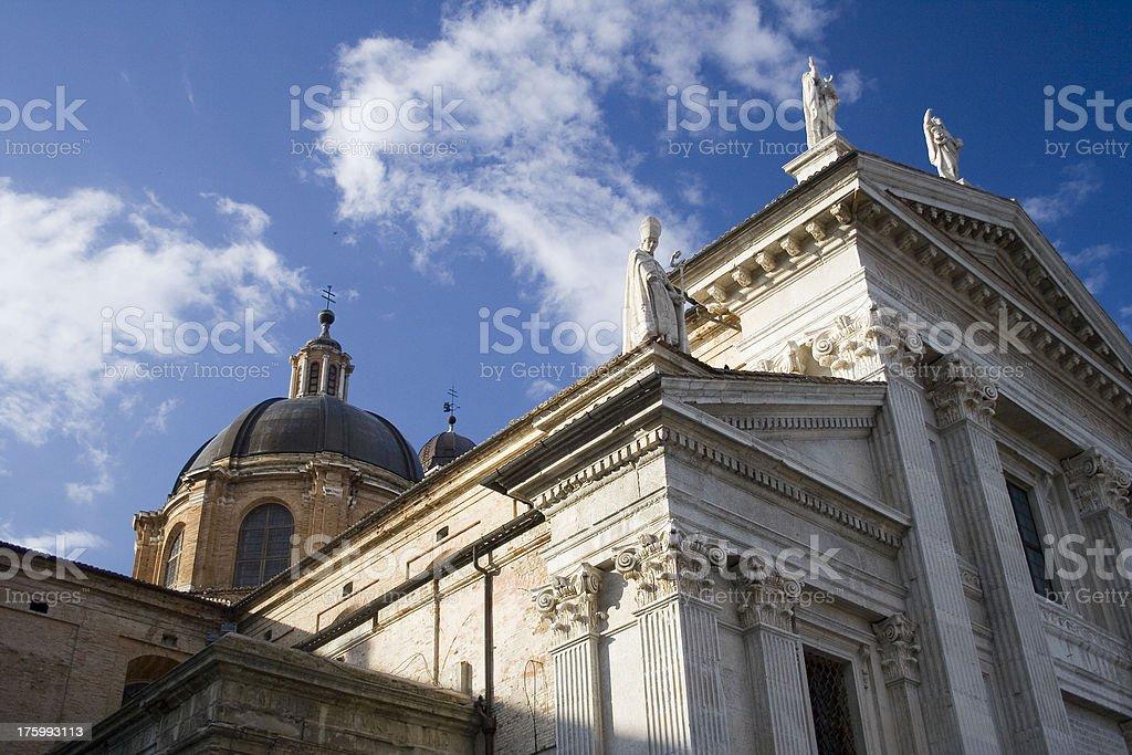 Urbino Italy royalty-free stock photo